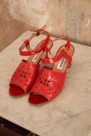 Original Vintage Sonia Rykiel Paris Sandaletten Lack