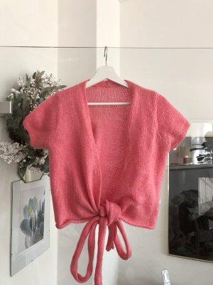 Vintage Wraparound Shirt pink