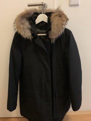 Original Woolrich Arctic Parka, Größe Medium, kaum getragen. Mit echtem Pelzkragen