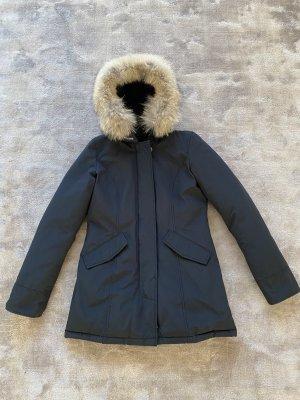 Original Woolrich Arctic Parker, Größe S, dunkelblau, neuwertig