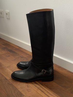 Original YSL Yves Saint Lauren Leder Stiefel 41