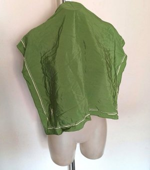 Yves Saint Laurent Silk Cloth grass green silk