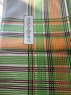Yves Saint Laurent Zijden doek veelkleurig