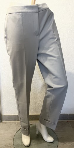 Armani Spodnie ze stretchu jasnoszary