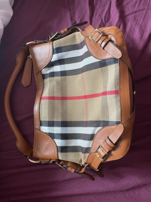 Burberry Handbag brown-red