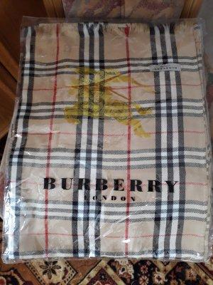 Burberry London Cashmere Scarf multicolored