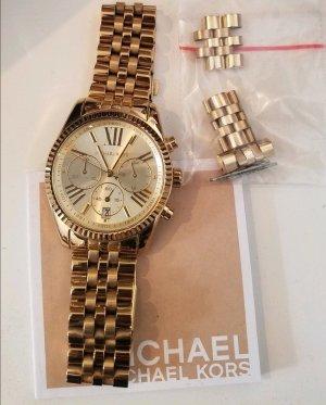 Originale goldene Michael Kors Uhr sehr guter Zustand