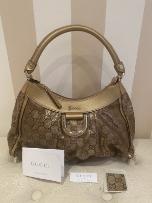 Originale Gucci Handtasche in Gold
