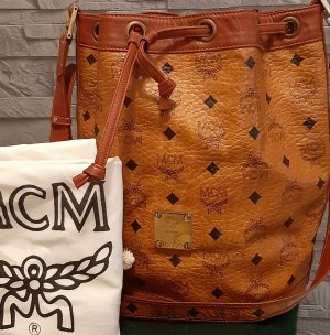 MCM Sac bandoulière brun