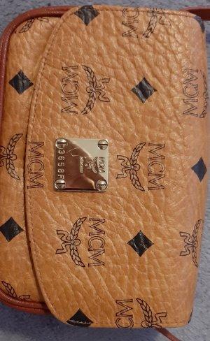 MCM Sac bandoulière brun-cognac