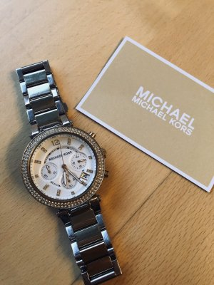 Originale Michael Kors Uhr in gold/silber