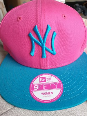 New Era Baseball Cap pink-light blue