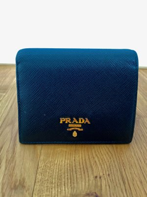 Originale Prada Geldbörse Saffiano Multicolor 1MV204 in sehr gutem Zustand