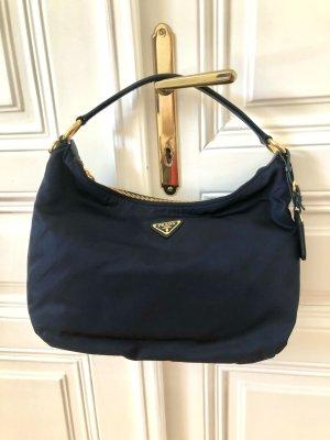 Originale Prada Handtasche in dunkelblau
