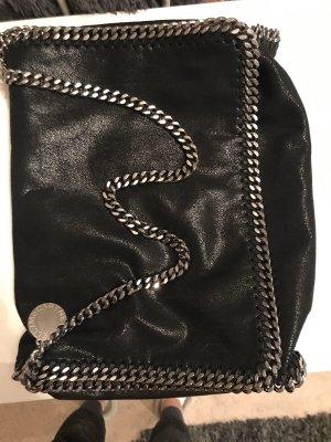 Stella McCartney Sac porté épaule noir-argenté
