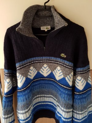 Originalen Lacoste Pullover Unisex, Retrostil