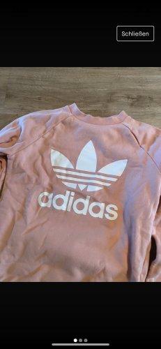 Adidas Pull ras du cou rose clair-rose