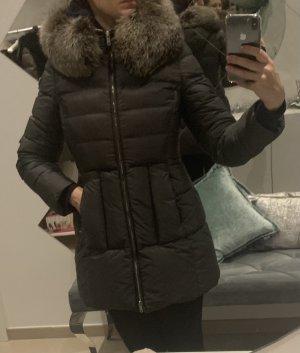 Prada Abrigo de plumón color plata-gris oscuro