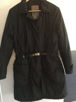 Originaler Prada Trenchcoat deutsche Gr.40 in schwarz