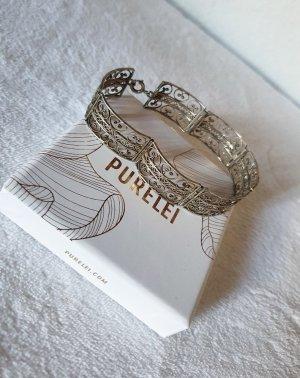 True Vintage Bracelet en argent argenté