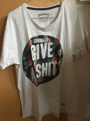 Originals give a..T-shirt mit Blumenprint