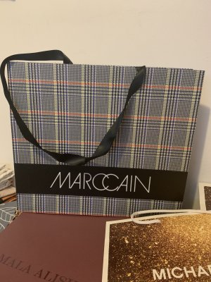 Marc Cain Burlap Bag multicolored