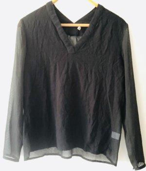 Sweewe Blusa nero Poliestere