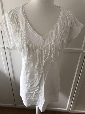Originelles weißes T-Shirt