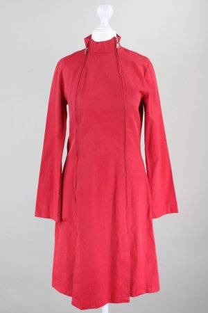 Heavy Raincoat brick red