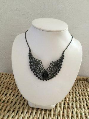 Collier Necklace black metal