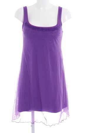 Oroblu Minikleid lila Party-Look