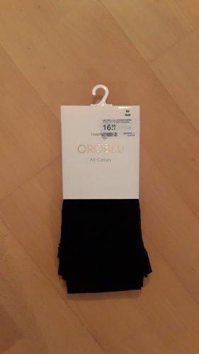 Oroblue Feinstrumpf-Leggings in schwarz - blickdicht in Größe S/M