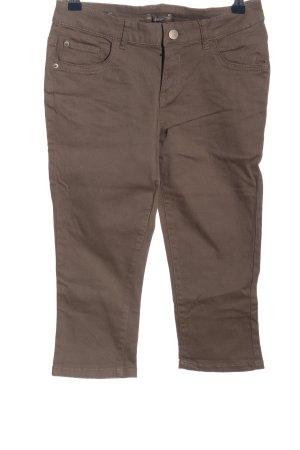Orsay Pantalon 3/4 brun style décontracté