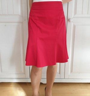 Orsay Spódnica midi czerwony