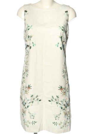 Orsay A-Linien Kleid weiß-grün Blumenmuster Casual-Look