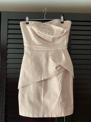 Orsay Vestido bandeau beige claro-crema