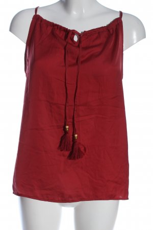 Orsay ärmellose Bluse rot Casual-Look