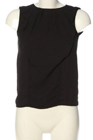 Orsay ärmellose Bluse schwarz Casual-Look