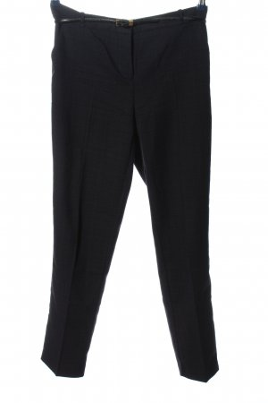 Orsay Suit Trouser black allover print business style