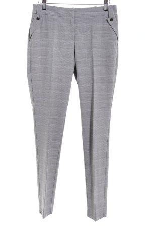 Orsay Anzughose hellgrau-grau Karomuster Business-Look