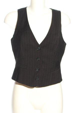 Orsay Anzugweste schwarz-weiß Streifenmuster Casual-Look