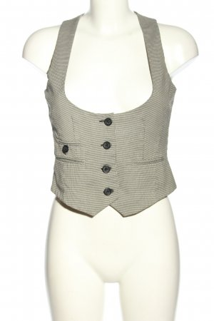 Orsay Gilet bianco sporco stampa integrale stile professionale