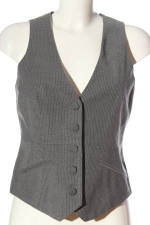 Orsay Waistcoat light grey striped pattern business style