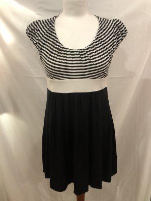 Orsay Camisa larga blanco-negro