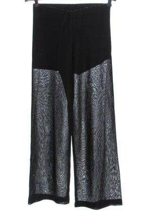 Orsay Pantalon «Baggy» noir imprimé allover style décontracté