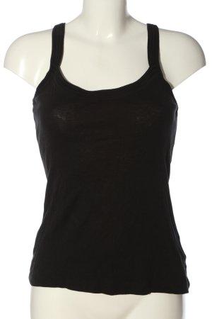 Orsay Basic Top schwarz Casual-Look