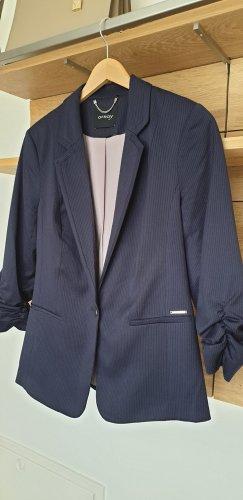 Orsay Klassischer Blazer blu scuro Poliestere