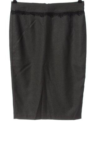 Orsay Bleistiftrock hellgrau-schwarz Casual-Look