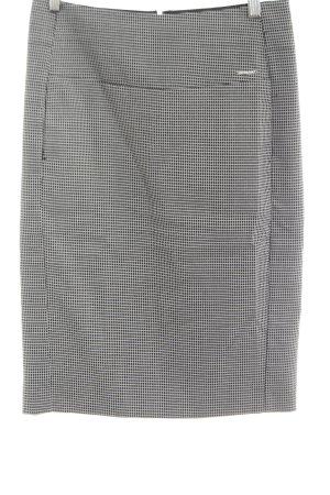 Orsay Bleistiftrock weiß-schwarz Karomuster Casual-Look