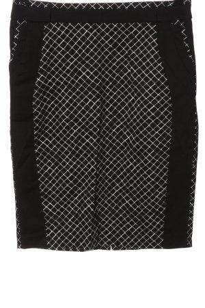 Orsay Bleistiftrock schwarz-weiß Karomuster Casual-Look